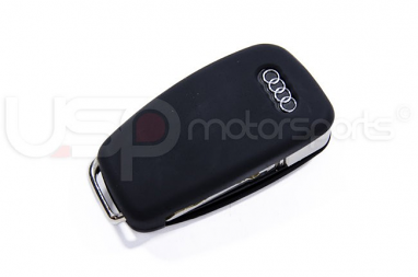 Silicone Key Fob Jelly (Audi Models)- Black