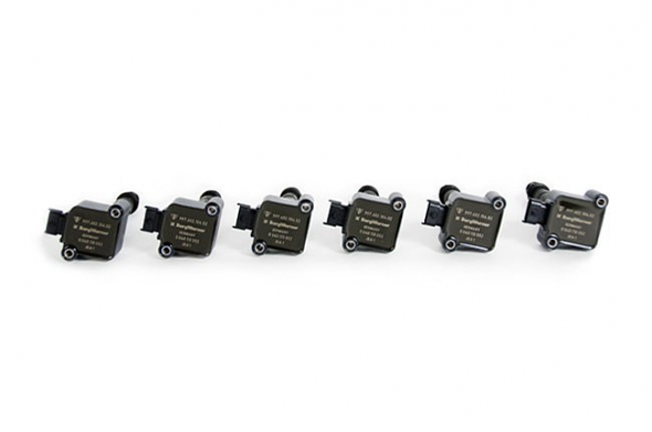 Direct Ignition Coil Packs Set of 6 For Porsche 911 Turbo