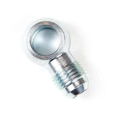 Banjo Fitting 12mm Hole - 6 AN male flare, Steel