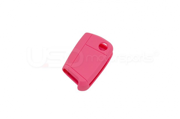 Silicone Key Fob Jelly MK7- Pink