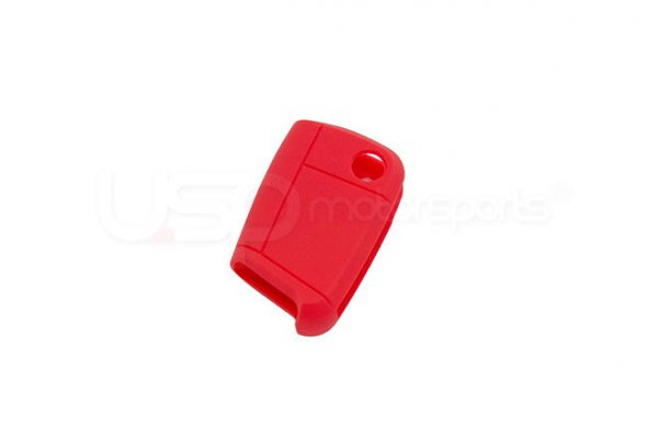 Silicone Key Fob Jelly MK7- Red