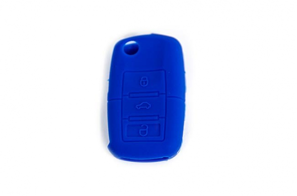 Silicone Key Fob Jelly (VW Models)- Blue