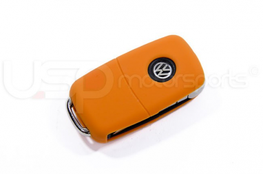 Silicone Key Fob Jelly (VW Models)- Orange