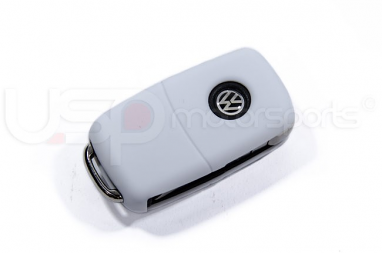 Silicone Key Fob Jelly (VW Models)- White