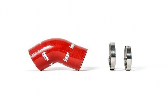Forge Silicone Throttle Body Hose Red For 2.0T FSI