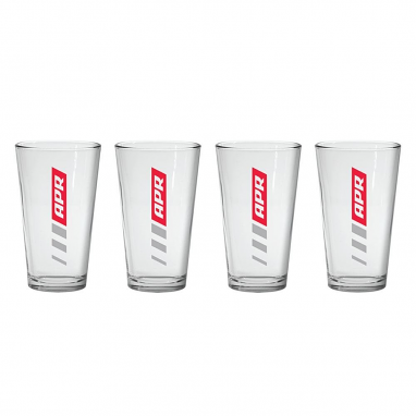 APR Pint Glasses - Set of 4