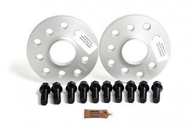 SPULEN Wheel Spacer & Bolt Kit- 15mm with Black Conical Seat Bolts