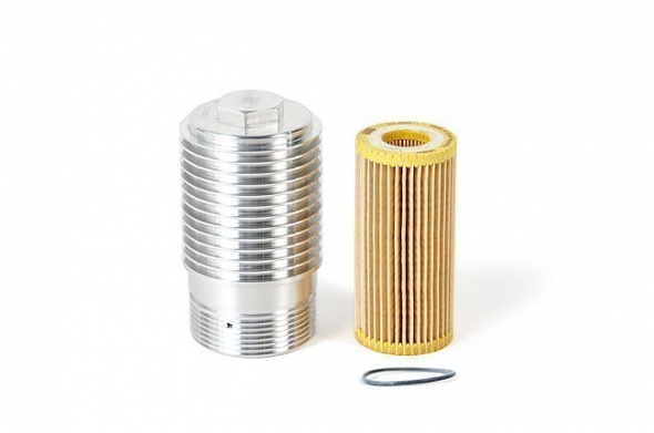 Cool Flow Aluminum Oil Filter Housing and Filter For 1.8T and 2.0T Gen3