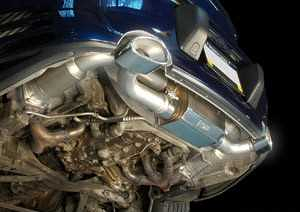 AWE Tuning Performance Exhaust - with 200 cell cats For Porsche 996TT/GT2