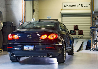 AWE Tuning VW CC Touring Edition Exhaust, Dual Outlet - with Diamond Black Tips
