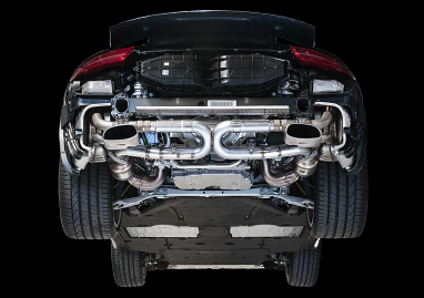 AWE Tuning Carrera Performance Exhaust - Use Stock Tips For 991