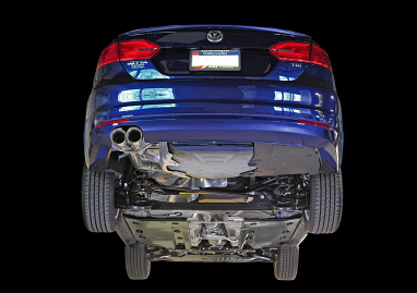 AWE Tuning MK6 Jetta TDI Touring Edition Exhaust - Silver Tips