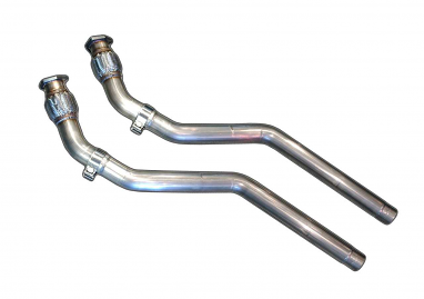 AWE Tuning  Resonated Downpipes For S5 4.2L