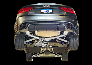 AWE Tuning Resonated Downpipes For Audi RS5