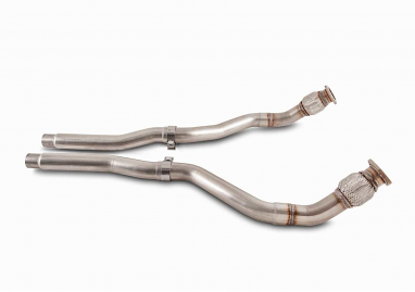 AWE Tuning Non-Resonated Downpipes For 3.0T Q5/SQ5