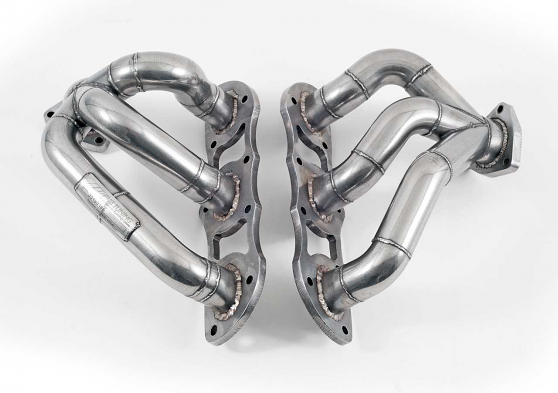 AWE Tuning Performance Header Set For Porsche 997.2TT