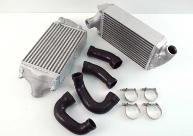 AWE Tuning Performance Intercoolers Black Hoses For 997TT/GT2