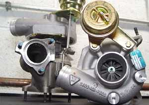 AWE Tuning Turbocharger Kit - complete package, including performance exhaust For K24
