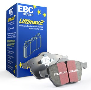 EBC Brakes Ultimax2 Front Brake Pad Set