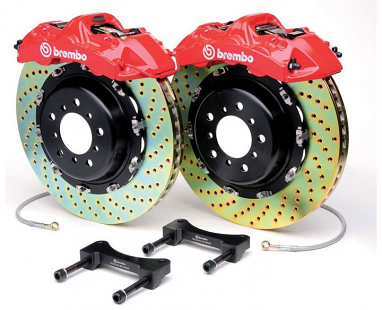 "Brembo GT 355x32mm (14"") 6 Piston Big Brake Kit"