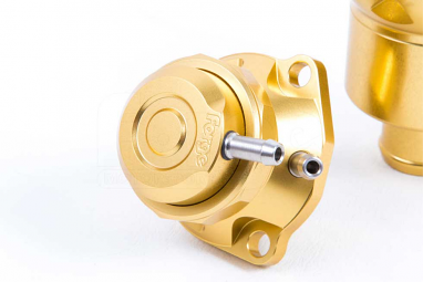 Forge Limited Edition Gold Blow Off Valve and Kit for Audi/VW