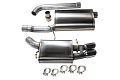 Corsa Audi A4/A5 2.0T Cat-Back Exhaust System- Polished Tips