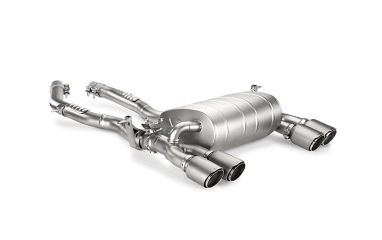 Akrapovic Slip-On Line Titanium Exhaust For BMW F80/F82 M3/M4 (Titanium Tips)