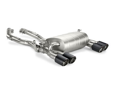 Akrapovic Slip-On Line Titanium Exhaust For BMW F80/F82 M3/M4 (Carbon Fiber Tips)