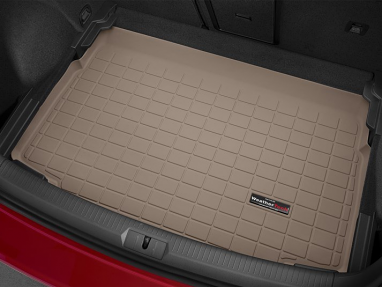 WeatherTech Cargo/Trunk Liner - Lowest Position (Tan) - For MK7 GTI/Golf/R