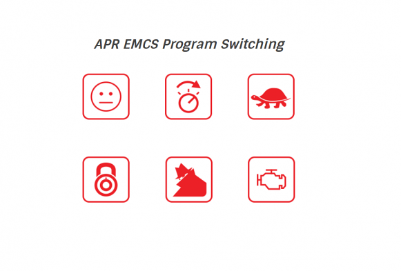 APR ECU Software Program and Option Switching