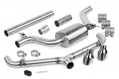 APR Catback Non-Resonated Exhaust System For VW MK7.5 GTI (2018+)