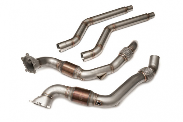 HPA 4.0T Downpipes for Audi (C7) S6, S7