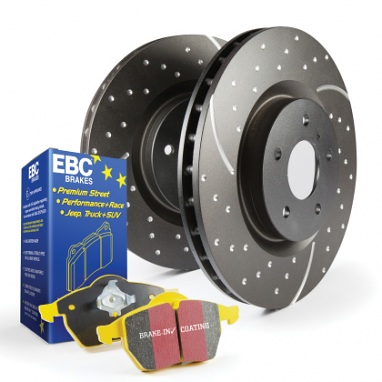 EBC Stage 5 Kits Yellowstuff and GD Rotors