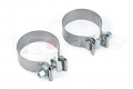 """USP 3"""" Downpipe Clamps (Pair)"""