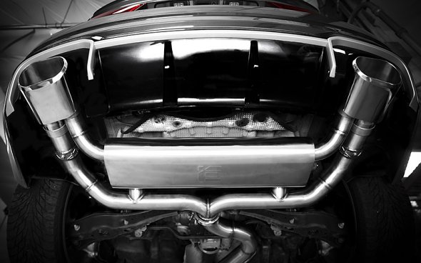 IE Catback Exhaust For Audi RS3 8V - Polished Tips