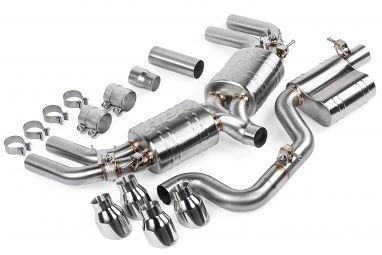 APR Catback Exhaust System For Audi S3 Sedan