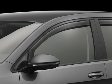 Weathertech Front Side Window Deflectors (Dark Smoke) - For MK7 GTI/Golf/R
