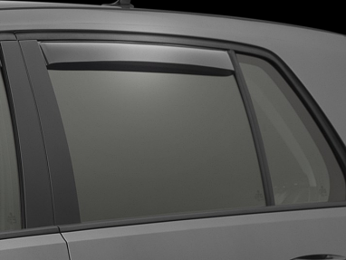 Weathertech Rear Side Window Deflectors (Light Smoke) - For MK7 GTI/Golf/R