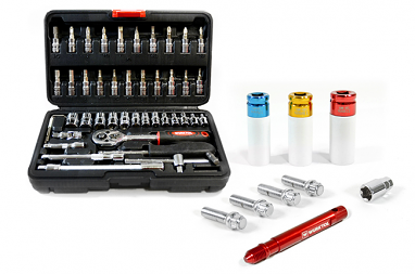 USP Wheel & Tool Essentials Bundle - 26mm Chromed