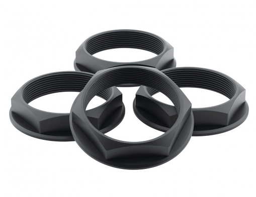 Fifteen52 Super Touring Hex Nut Set - (Anodized Black)