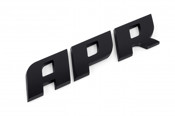 APR Dome Badge - Satin Black