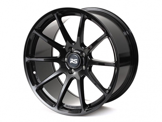 RSe102 Light Weight Wheel - 19x9.5 25ET - Black - Gloss