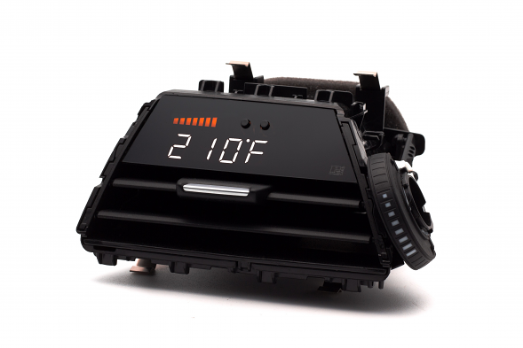 P3 Integrated Digital Vent Gauge V3 OBD2 For BMW F3X/F8X 3 Series & 4 Series (Pre-Installed Vent)