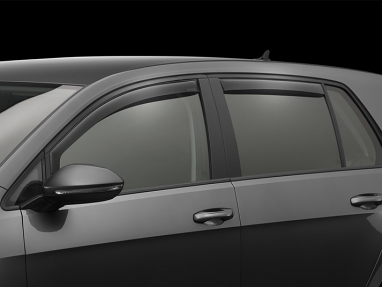 Weathertech Front & Rear Side Window Deflectors Kit (Dark Smoke) - For MK7 GTI/Golf/R