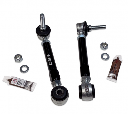 Dynamic+ Billet Adjustable Front Sway Bar End Links For B9 Audi A4/S4/A5/S5/RS5/SQ5/AllRoad