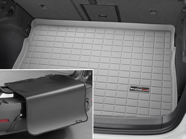 WeatherTech Cargo/Trunk Liner - Highest Position BP (Grey) - For MK7 GTI/Golf/R