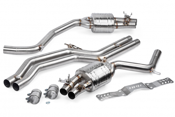 APR Catback Non-Resonated Exhaust System For Audi RS6/RS7 4.0T