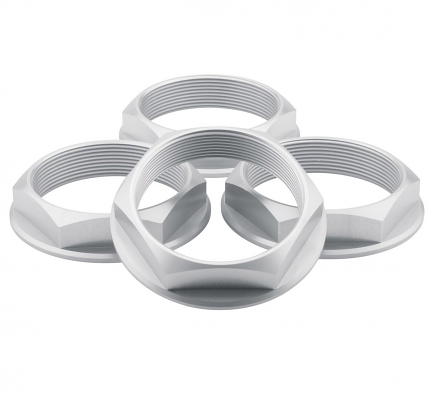 Fifteen52 Super Touring Hex Nut Set - (Anodized Silver)