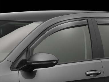 Weathertech Front Side Window Deflectors (Light Smoke) - For MK7 GTI/Golf/R