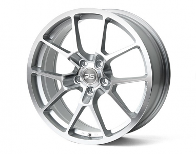 RSe10 Light Weight Wheel - 18X8.0 45ET - Machine Silver